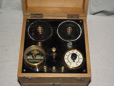 uraltes Hochfrequenz Reizstromgerät um 1910 gemarkt