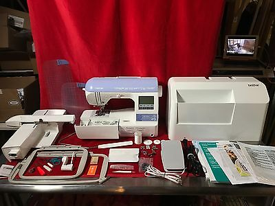 Brother SE1800 184 Stitch Computerized Sewing & Embroidery Machine in Box MINT!