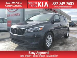 2017 Kia Sedona LX, V6, HEATED SEATS, BLUETOOTH, BACK UP CAMERA