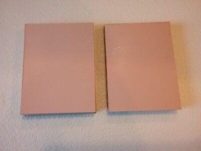12 pcs  Double Sided Copper Clad Laminate PCB  FR-4, .060, 2 x 6, 1 oz. BLUE