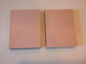 18 pcs  Copper Clad Circuit Board Laminate FR-4, .017, 1 oz. Double Sided, 3 x 4