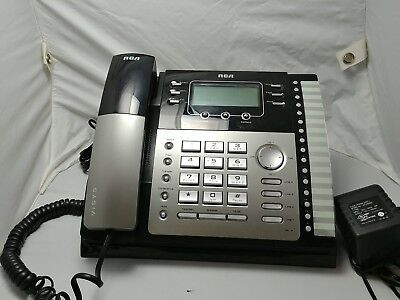 Rca Visys Business 4-line Phone System Model 2542x 2 Phones