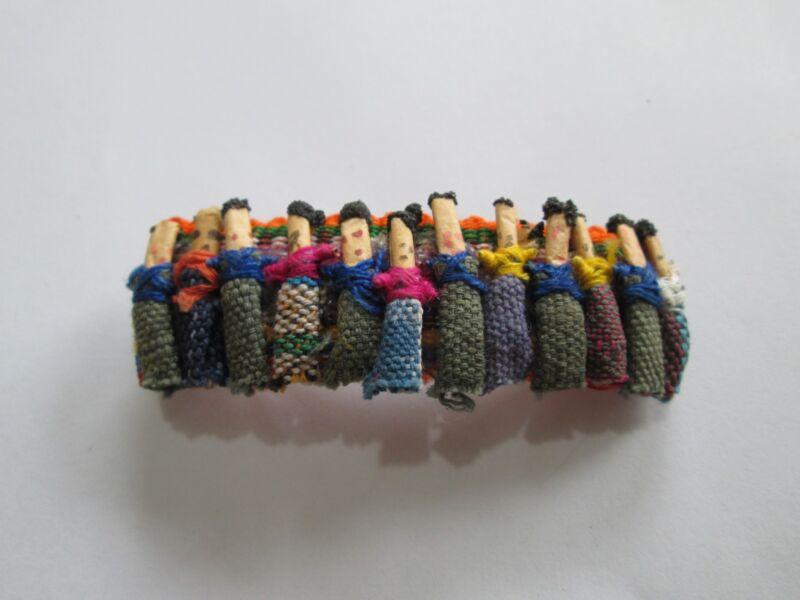 Handmade Barrette Guatemala Cotton Ethnic T71