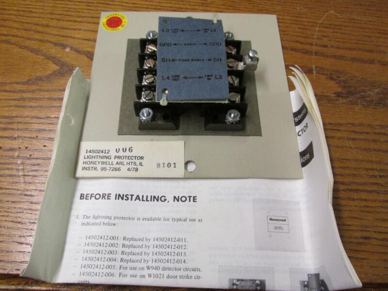 NEW NOS Honeywell 14502412 Lightning Protector 95-7266