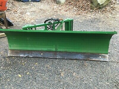 784 Snowplow Quick Attach For Jd Compact Tractor