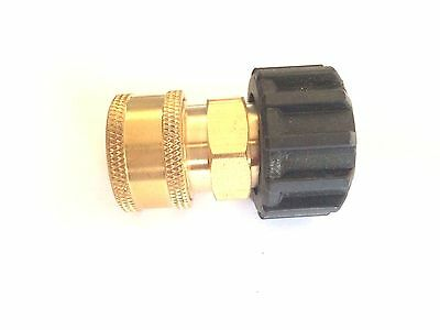 38 Female Quick Connect Coupler X M22 Twist Connector For Pressure Washer