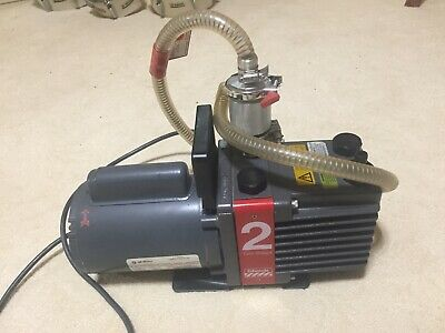 Edwards E2m2 Two Stage 13 Hp Single Phase Vacuum Pump