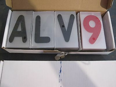 Deli Sign Letters Numbers - 2 Boxes