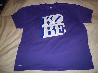 Nike 100% Authentic LA Lakers Kobe Bryant#24 Jersey~ Fit Dry T shirt Size2XL