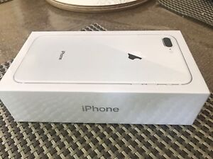 Sealed brand new IPhone 8 Plus *** Silver ***