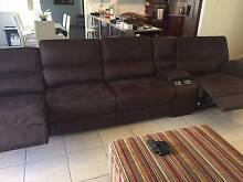 3 months old, perfect condition, chocolate fabric, end recliners Ormeau Gold Coast North Preview