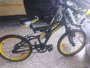 Boys bike dual suspension Lammermoor Yeppoon Area Preview