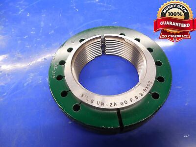 3 8 Un 2a Thread Ring Gage 3.0 Go Only P.d. 2.9162 N-2a 3-8 3.00-8 Inspection