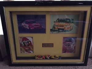 Dick Johnson racing memorabilia signed framed she'll model car Hawkesbury Heights Blue Mountains Preview