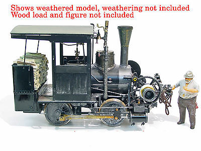 ERM&L RAILROAD FALK 0-4-0 LG Scale Standard Gauge Version Brass Locomotive FGFK