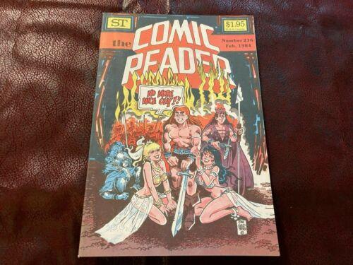 THE COMIC READER FANZINE - FEB 1984  #216 (UNREAD ) -  ARCHIE
