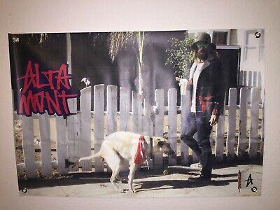 8b67590dc9 Cool Vintage Altamont Skateboard Skating Vinyl Poster Sign Banner  Double-Sided