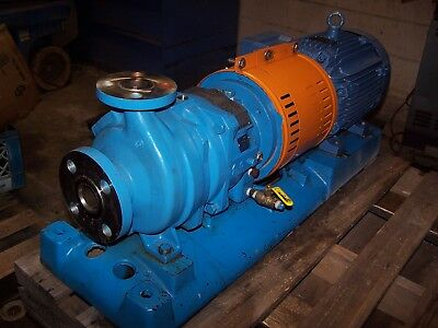 Goulds 10 Hp 316 Ss Stainless Centrifugal Pump 1x1.5-6 230460 Vac Model 3296