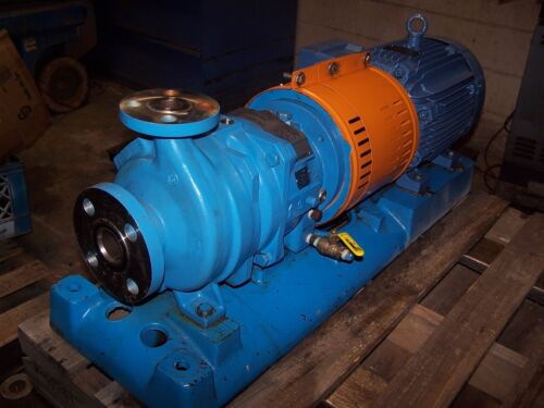 GOULDS 10 HP 316 SS STAINLESS CENTRIFUGAL PUMP 1X1.5-6  230/460 VAC MODEL 3296