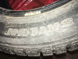 LAST CHANCE winter tires  250.00$