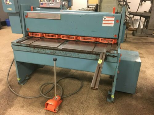 "NIAGARA #1R4-10 Power Squaring Shear 48"" x 10 gauge"