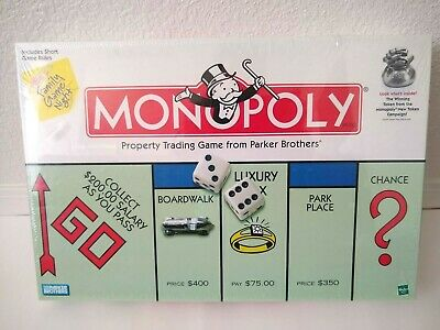 New Hasbro Monopoly Property Trading Board Game From Parker Brothers (Monopoly Property Trading Game From Parker Brothers)