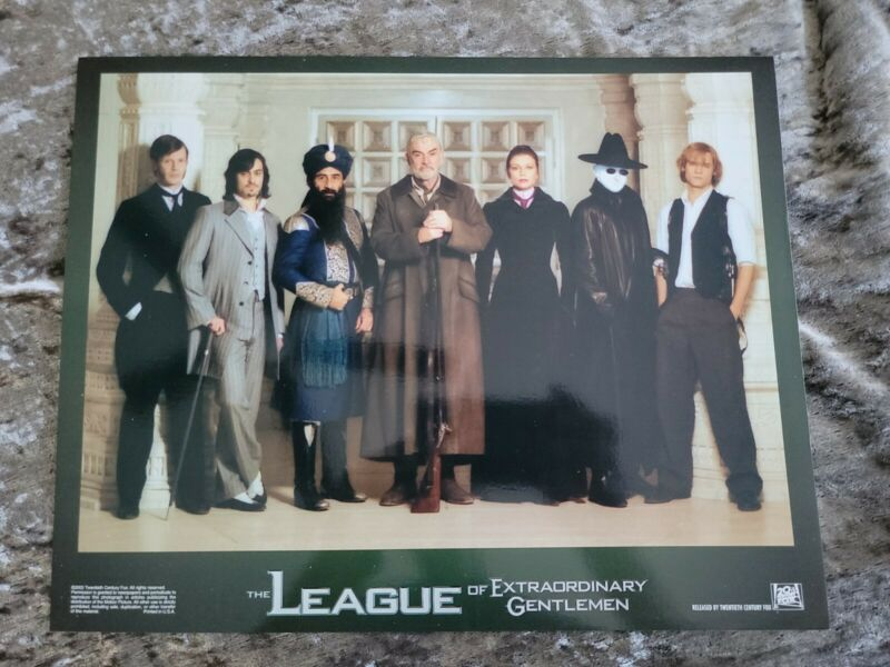 The League Of Extraordinary Gentlemen lobby cards - Sean Connery