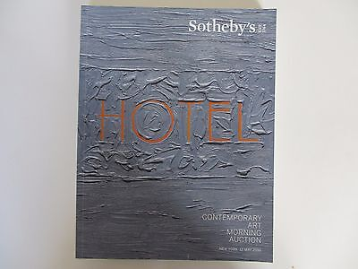 Contemporary Art Morning Auction. Sotheby's. New York. 12 May 2016