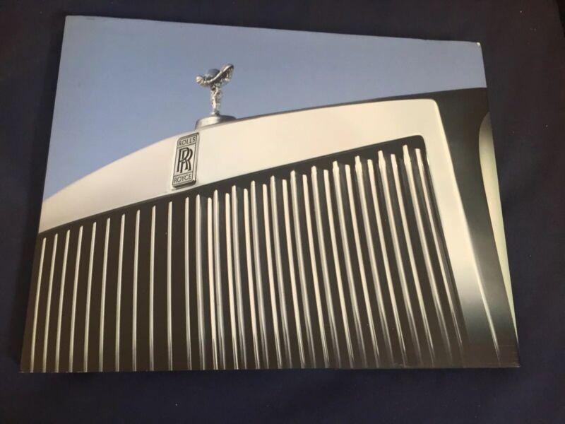 2014 2016 Rolls Royce Phantom Large Color Brochure Catalog Prospekt