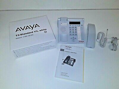 Avaya Tenovis T3  Standard  V3  Systemtelefon Telefon weiss Neu ! V3-system