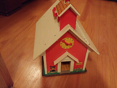 Vintage 1971 Fisher Price Little People Play Family School House