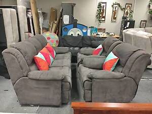 TODAY DELIVERY MODERN COMFORTABLE RECLINER 3X1X1 sofas set lounge Belmont Belmont Area Preview