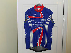 Team-GB-SKY-Olympic-development-cycling-bike-gilet-jersey-Adidas-shirt-windvest