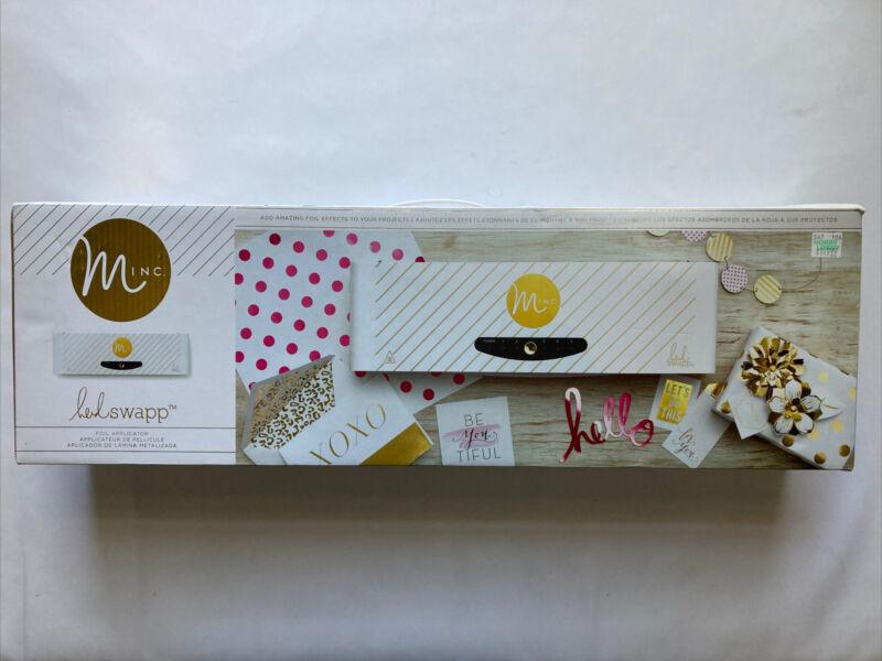 "American Crafts Minc Heidi Swapp Foil Application Machine Starter 12"" New"