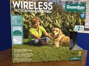 2 Dog WIRELESS Pet Containment System
