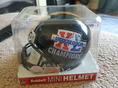 Pittsburgh Steelers SUPER BOWL XL CHAMPION Riddell NFL Mini Football Helmet NEW  Nfl Steelers Helmet
