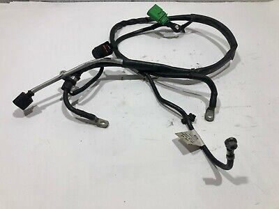 AUDI A1 8X 2013 1.4 PETROL ALTERNATOR WIRING CABLE LOOM 6R0971349BK /  2010-18