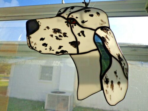 STAINED GLASS - DOG - ENGLISH SETTER