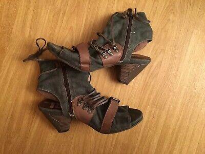 Tamaris Pumps Gr.39 Damen Schuhe Sandalen Jeans