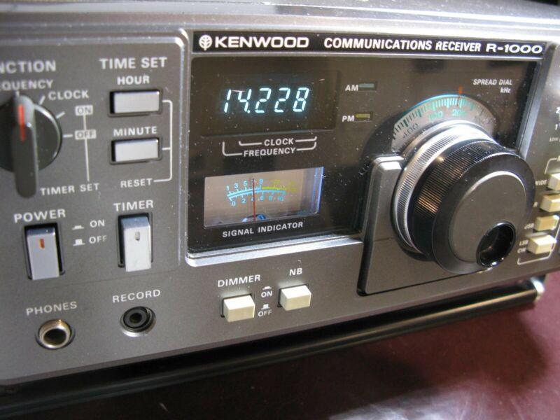 Kenwood R-1000 Communications Receiver