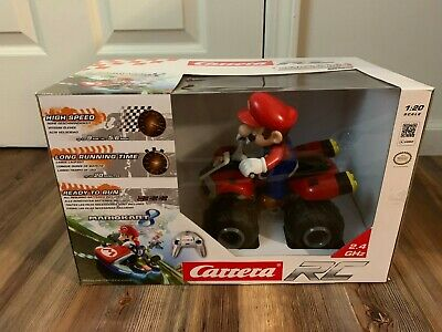 Mario Kart RC Radio Remote Control 4-wheeler  Car Race Toy Carrera Mariokart - Kart Radio Remote Control Car