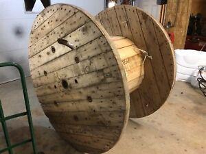 """60"""" wooden reel"""