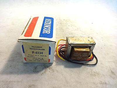 New In Box Stancor P-6134 Pri 117v Sec. 6.3v Filament Transformer