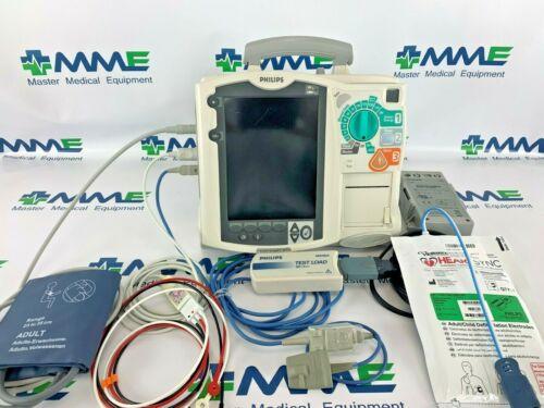 Philips HeartStart MRX. 3L, Pace, Advisory, EtCO2, Spo2, NIBP, warranty