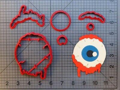 Halloween - Eyeball 266-A212 Cookie Cutter Set - Halloween Cookies Eyeballs