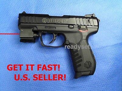 RED DOT LASER RUGER SR22 SR22P COMPACT 22 CAL PISTOL GUN SR40 SR40c WALTHER P99 P99 Pistol Gun