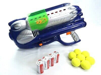 dismissed collectible nerf ballzooka mp150 motorized yellow balls blaster