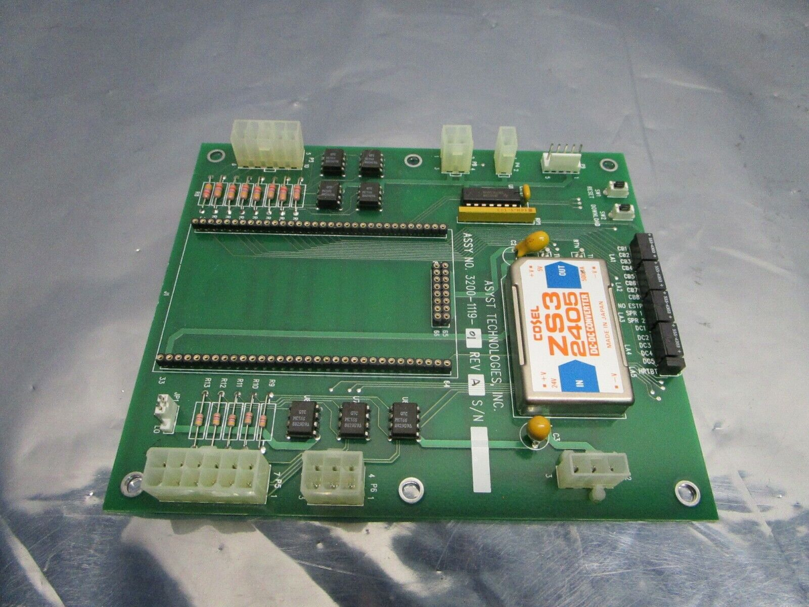 Asyst 3200-1119-01 PCB, FAB 3000-1119-01, 101210