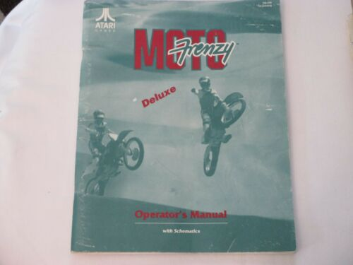 ATARI 1992 MOTO FRENZY MANUAL