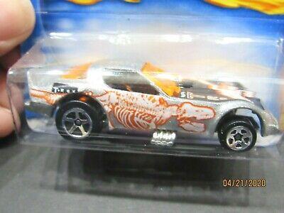 Firebird Funny Car, Fossil Fuel Series, Silver LOOSE HOT WHEELS 1/64 CAR